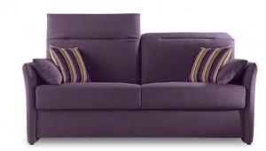 Canapé rapido tissu déhoussable - Violette